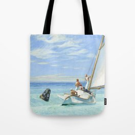 Edward Hopper Ground Swell 1939 Painting Tote Bag