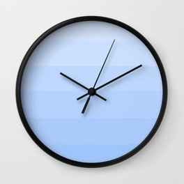 Soft Cooling Blue Hues - Color Therapy Wall Clock