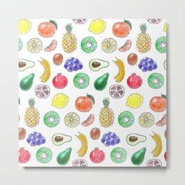 Tropical fruit Metal Print
