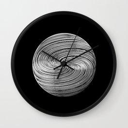 Twisted Twine Sphere Wall Clock