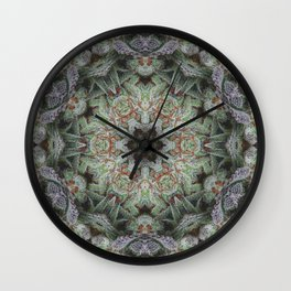 Crystal Wheel Wall Clock