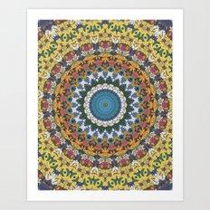 Elemental Spirits Art Print