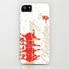 Santa Claus & Me iPhone Case