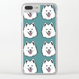 American Eskimo Clear iPhone Case