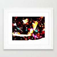 grunge Framed Art Prints featuring Grunge by Mikhaelle A.