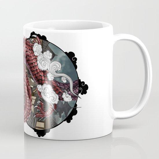 Japanese Dragon 竜 Mug