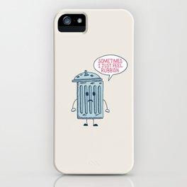 Rubbish iPhone Case