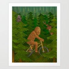Wild Ride Art Print