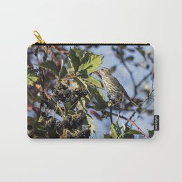 Female Purple Finch Carry-All Pouch