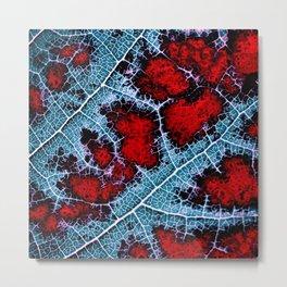 leaf structure macro III Metal Print