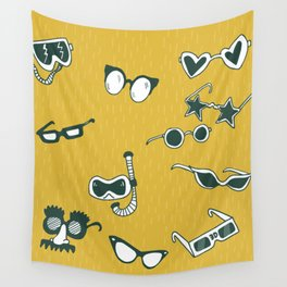 Glasses Wall Tapestry