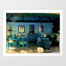 La Casa Azul Art Print