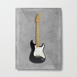 Stratocaster Blackie 1977 Metal Print