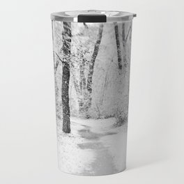 Drawn to Winter Travel Mug