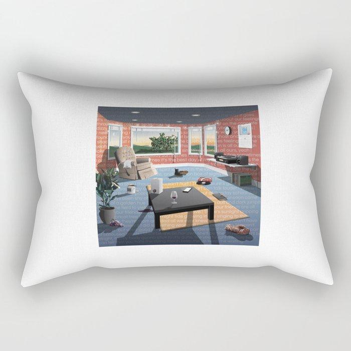 """Hippo Campus - """"Landmark"""" Lyrics Rectangular Pillow"""