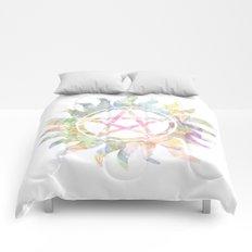 Supernatural watercolours Comforters