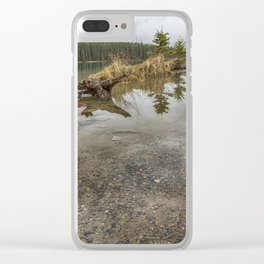 Two Jack Lake, No. 2 Clear iPhone Case
