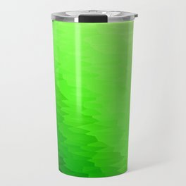 Green Texture Ombre Travel Mug