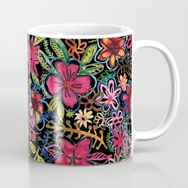 Meadow on black Coffee Mug