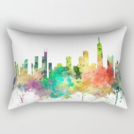 Chicago, Illinois Skyline SP Rectangular Pillow
