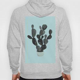 Monday blue cactus pricks Hoody
