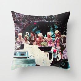 Computer Party Throw Pillow