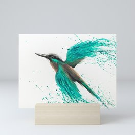Kingfisher Tropics Mini Art Print