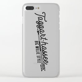 Taggarthassee Clear iPhone Case