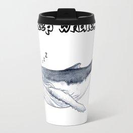 Sleep whale Travel Mug