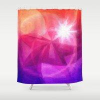 destiny Shower Curtains featuring Destiny by Geni