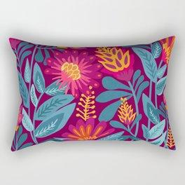 Fiesta Garden Rectangular Pillow