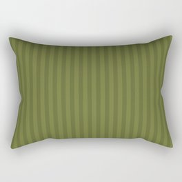 Olive striped pattern Rectangular Pillow