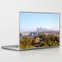 los angeles Laptop & iPad Skins featuring Los Angeles by Arturo Garcia