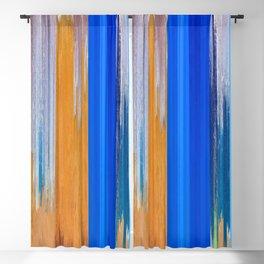 Pixel Sorting 125 Blackout Curtain