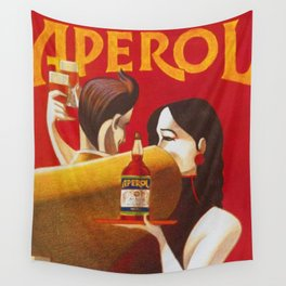 Aperol Alcohol Aperitif Spritz Vintage Advertising Poster Wall Tapestry
