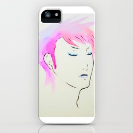 She Listens. iPhone Case