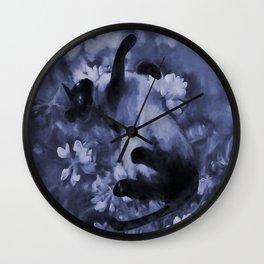 Sulley Blues Wall Clock