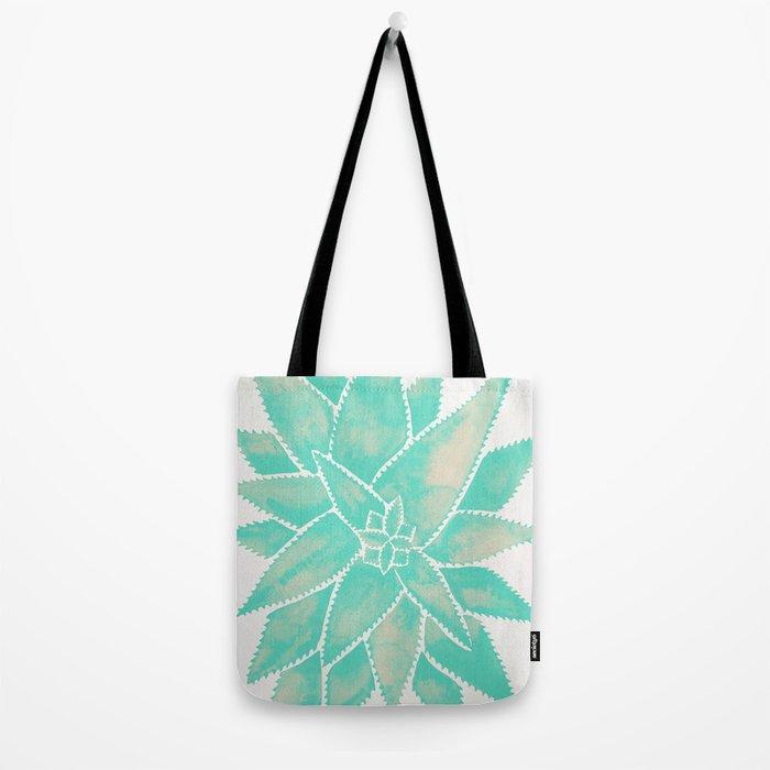 Aloe Vera – Mint Palette Tote Bag