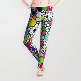 Circles and Other Shapes and colors Leggings
