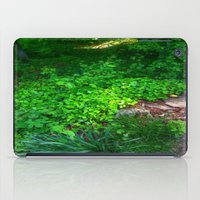 woodland iPad Cases featuring Woodland by Geni