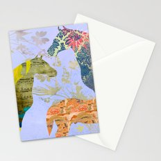Chinese Lunar New Year and 12 animals  ❤  The HORSE 馬 Stationery Cards