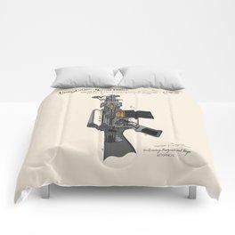 AR-15 Semi-Automatic Rifle Patent Comforters