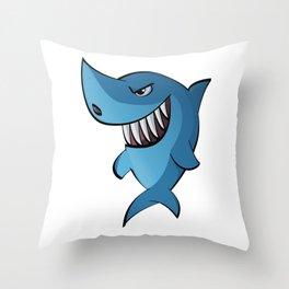 Sharkie Throw Pillow