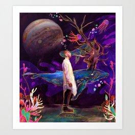 Future Waves Art Print
