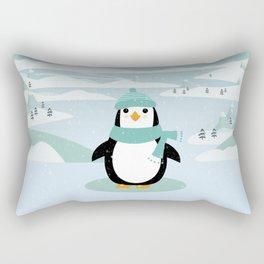 AFE Winter Penguin Rectangular Pillow