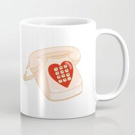 Sassy Vintage Phone Coffee Mug