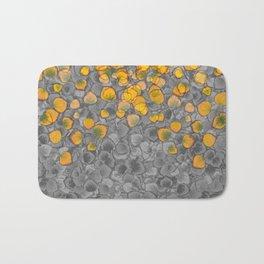 Real Aspen Leaves Collage Bath Mat