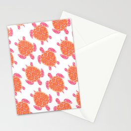 Sea Turtle – Melon Palette Stationery Cards