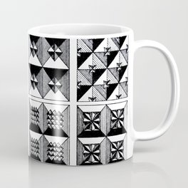 Engraved Patterns Coffee Mug
