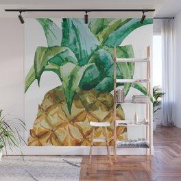 Pineapple , tropical , hawaii , summer , fruit , Wall Mural